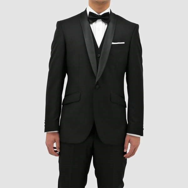 Daniel Hechter Dinner Suit Trousers (Black)