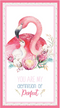 Devonstone Collection A Mother's Love Flamingo Panel (DV3456)