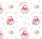 Devonstone Collection A Mother's Love Flamingo Fabric (DV3459)