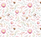 Devonstone Collection A Mother's Love Floral White Fabric (DV3462)