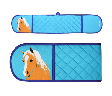Thomas Cook Horse Double Oven Glove