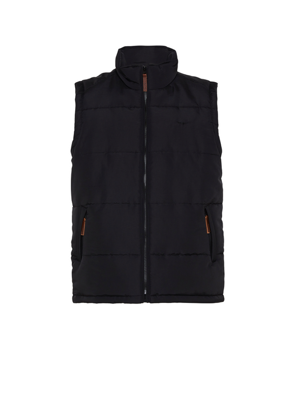 RM Williams Patterson Creek Vest (Black)