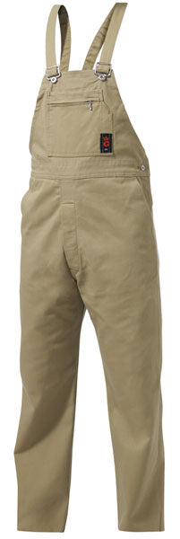 King Gee Bib And Brace Drill Overall (Khaki)