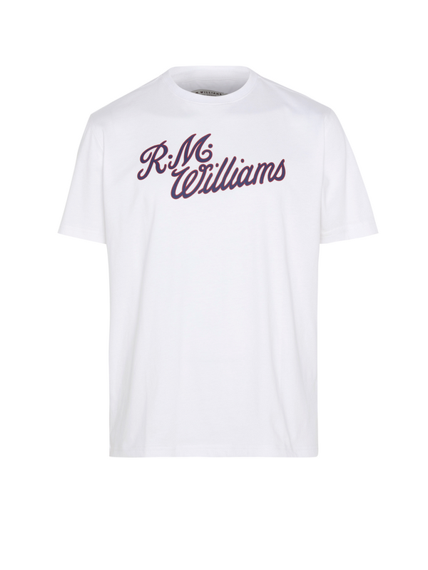RM Williams Mens Script T-Shirt