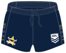 Authentica Cowboys NRL Supporter Shorts