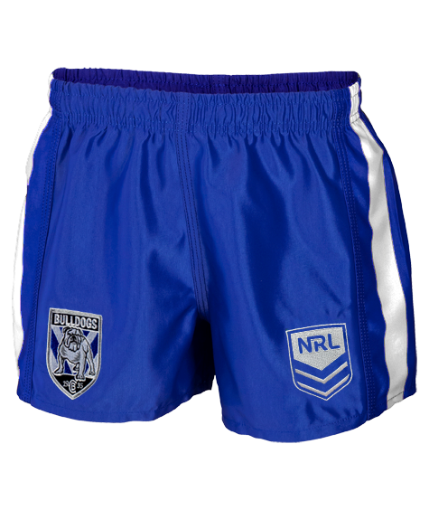 Authentica Bulldogs NRL Supporter Shorts