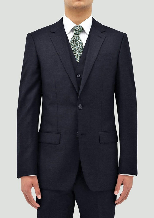 Boston Classic Fit Michel Jacket (Pin Dots, Navy)