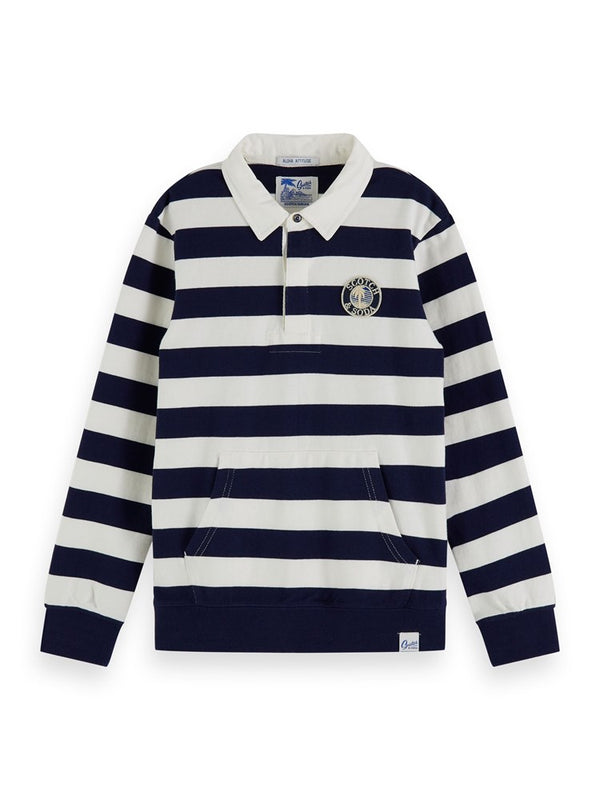 Scotch & Soda Rugby Stripe Sweater