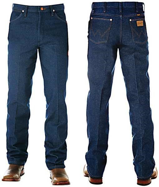 Wrangler Cowboy Cut Slim Fit (Rigid Denim)