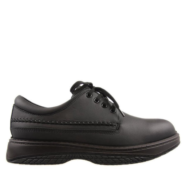 Redback Waiter Black Lace Up Shoe