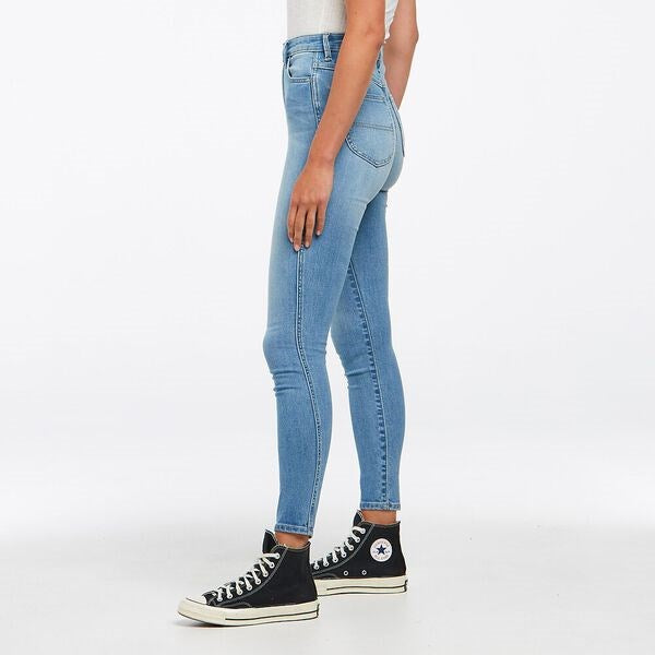 Riders Womens High Rider Lennon Blue Jeans