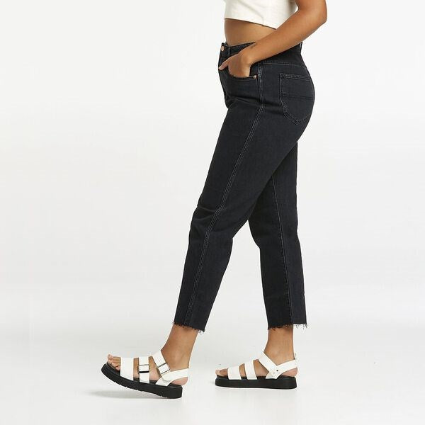 Riders Womens High Slim Mom Jeans