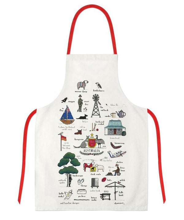 Red Tractor - This Is Australia - Apron