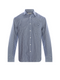 RM Williams Collins Shirt (Blue/White Check)