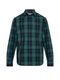RM Williams Mens Collins Shirt (Navy/Green/Red)