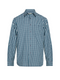 RM Williams Mens Collins Shirt (Blue/Navy/White)