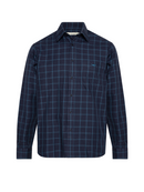 RM Williams Mens Collins Shirt (Navy Blue)