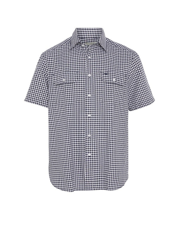 R.M. Williams Fraser Shirt (Navy/White)