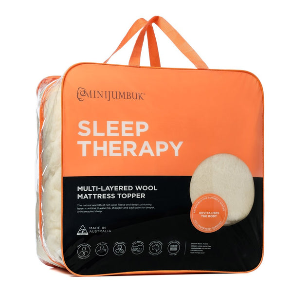 MiniJumbuk Sleep Therapy Mattress Topper
