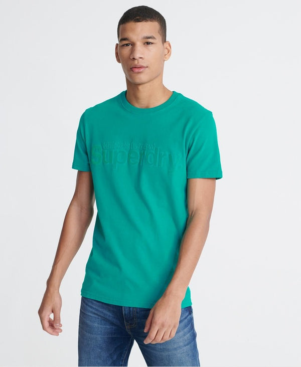 Superdry Core Faux Suede Tee