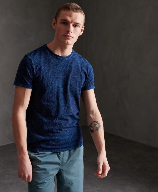 Superdry Denim Goods Co Texture Tee