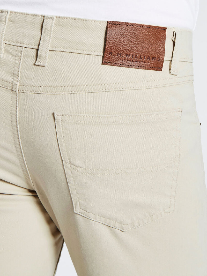 RM Williams Linesman Jeans - Slim (Bone)