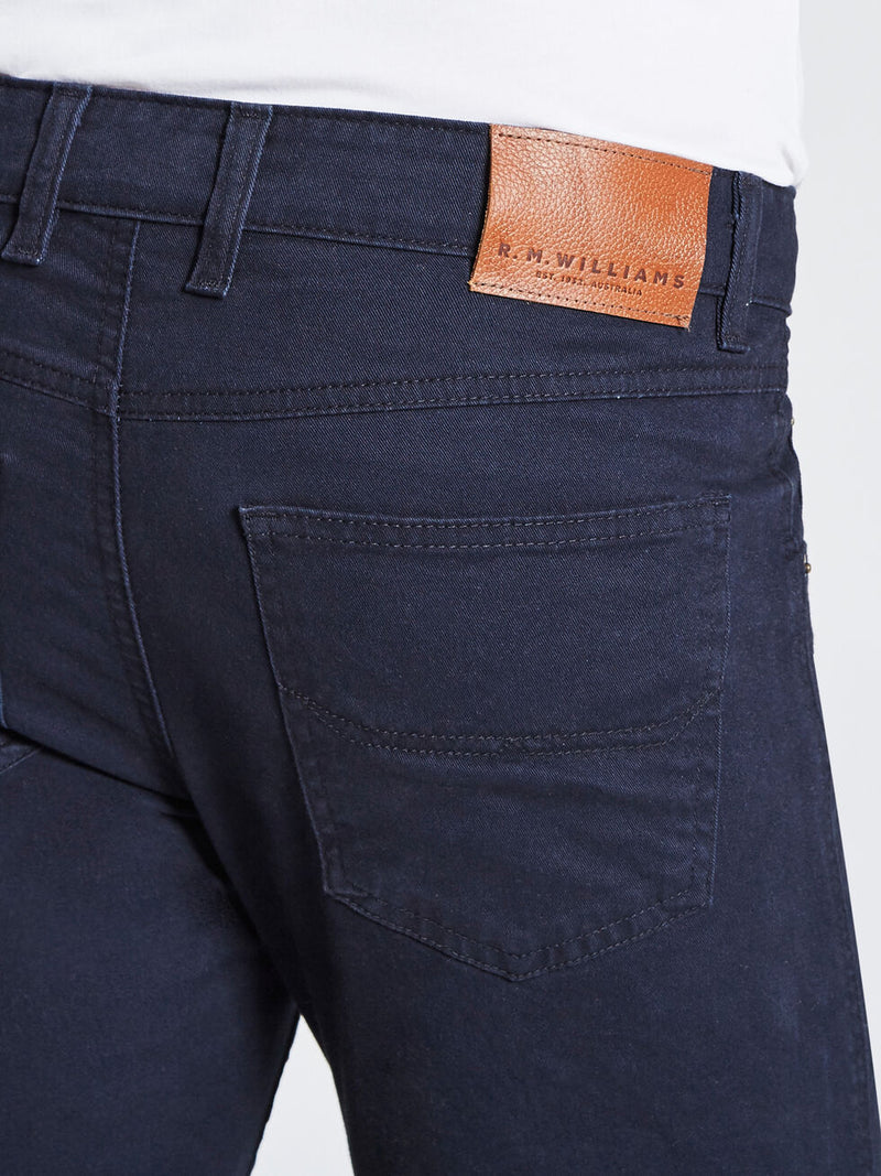RM Williams Linesman Jeans - Slim (Navy)