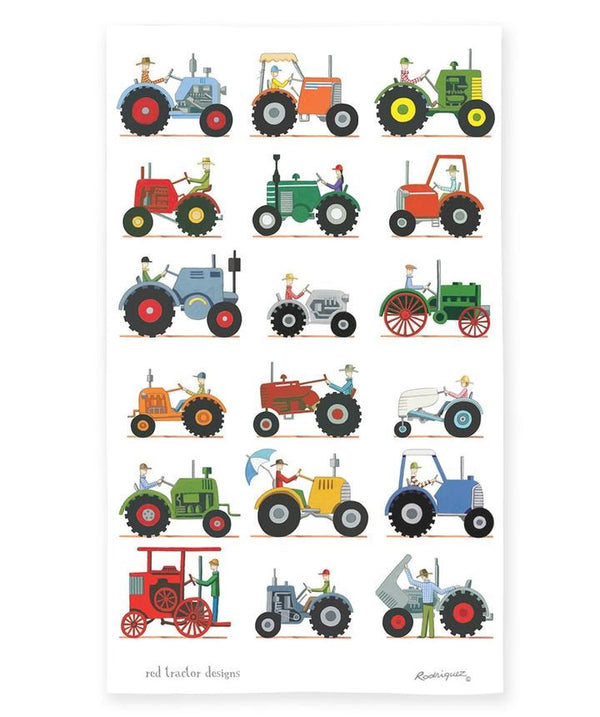 Red Tractor Designs - The Tractor Show - Tea Towel