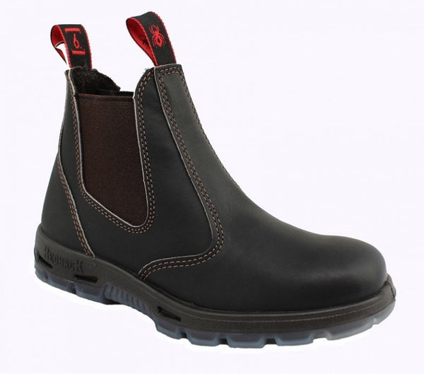 USBOK Bobcat Claret Oil Kip Safety Toe