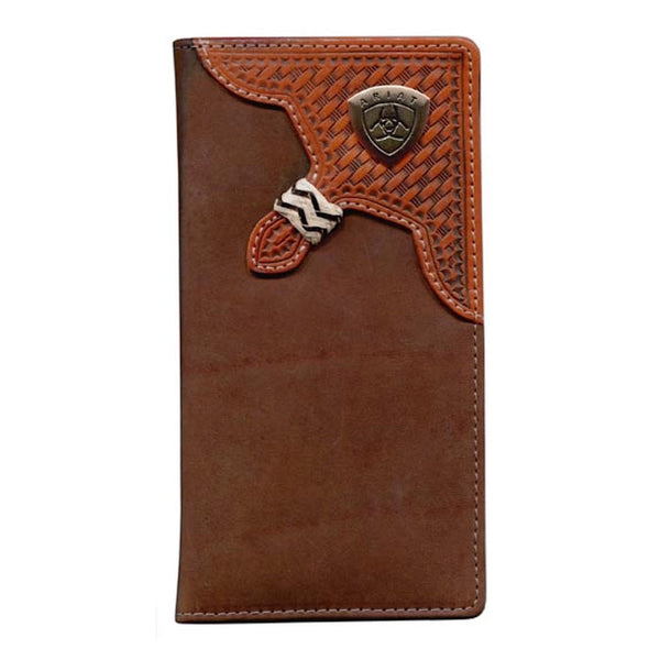 Ariat Rodeo Wallet - Basket Weave Overlay