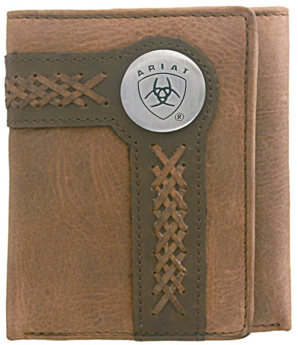Ariat Tri-Fold Wallet - Accent Overlay