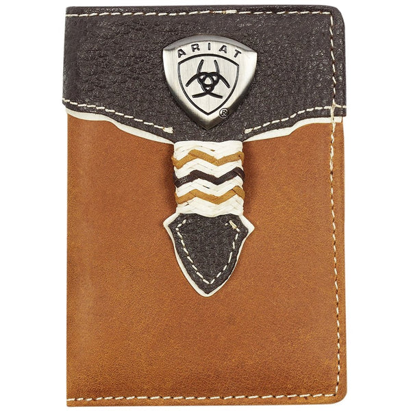 Ariat Tri-Fold Wallet - Overlay