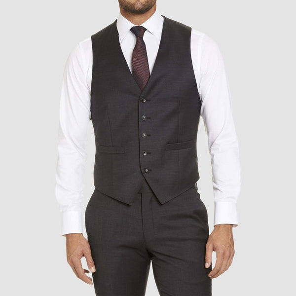 Studio Italia Icon Stretch Alex Vest (Charcoal)