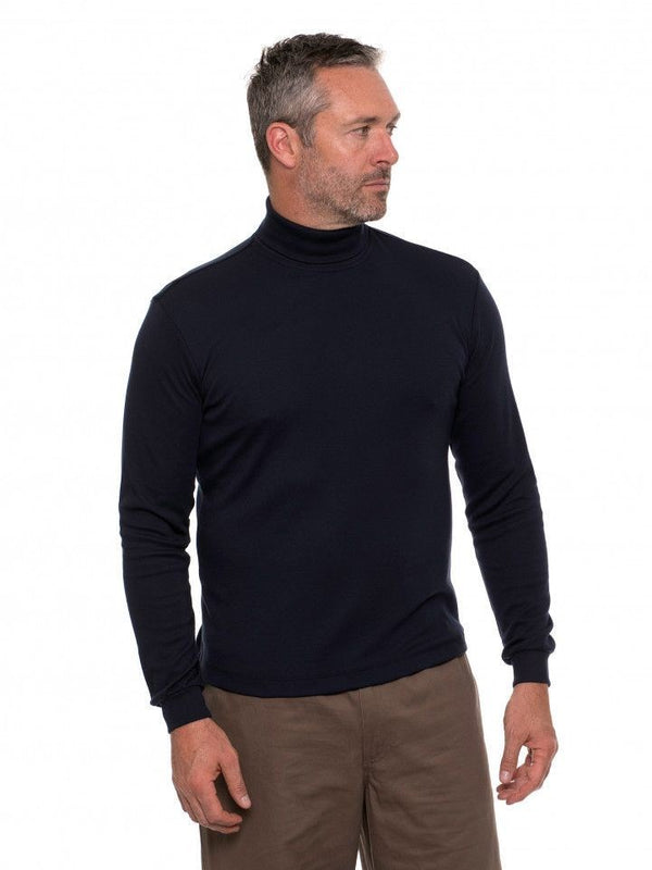 Breakaway Mens Winterlock Roll Neck Skivvy