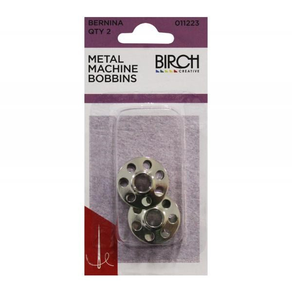 Birch Bernina Metal Machine Bobbins (2 Pack)
