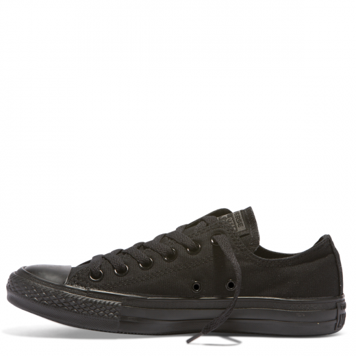 Converse Chuck Taylor Core Canvas Low Top (Black Mono)