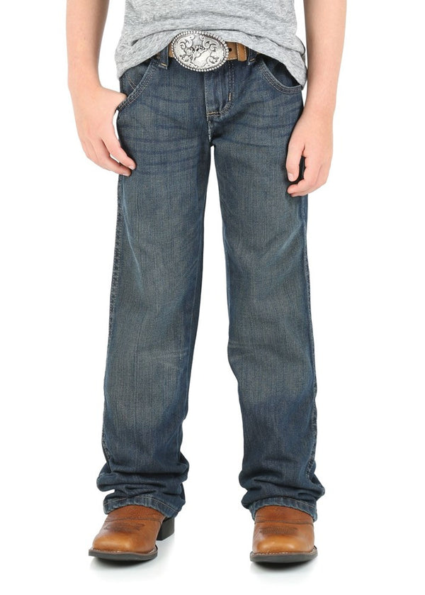 Wrangler Boys Retro Western Relaxed Bootcut Jeans