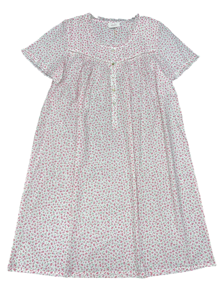 Schrank Matilda Short Sleeve Cotton Woven Nightie
