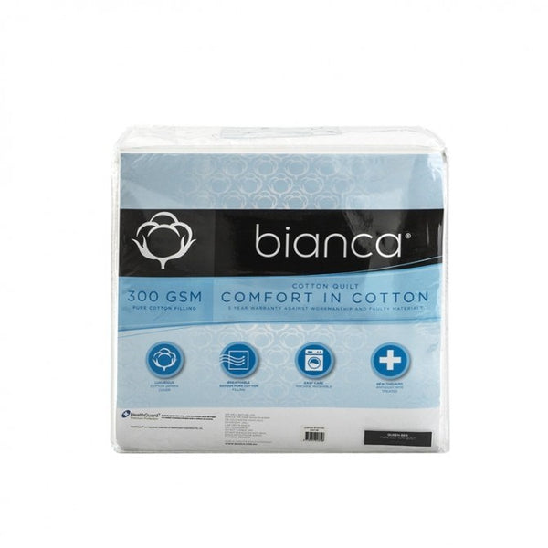 Bianca Comfort in Cotton 300gsm Summer Weight Quilt
