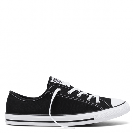 Converse Chuck Taylor Dainty Canvas Low Top (Black)