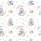 Devonstone Collection A Mother's Love Baby Hippopotami Fabric (DV3460)