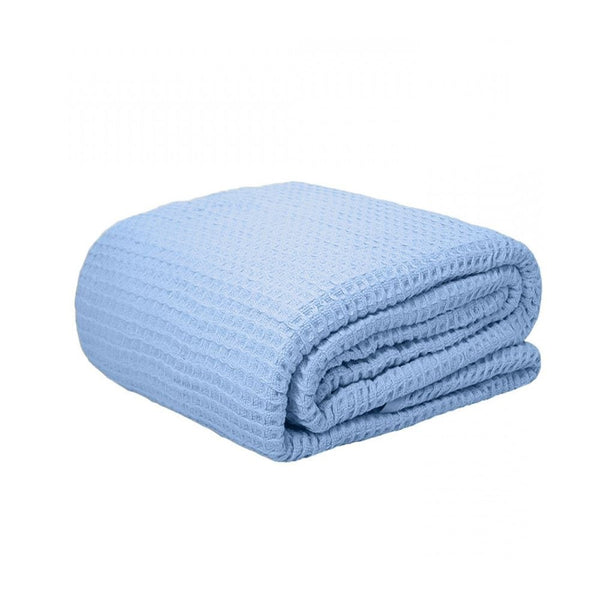 Ramesses Egyptian Cotton Waffle Blanket