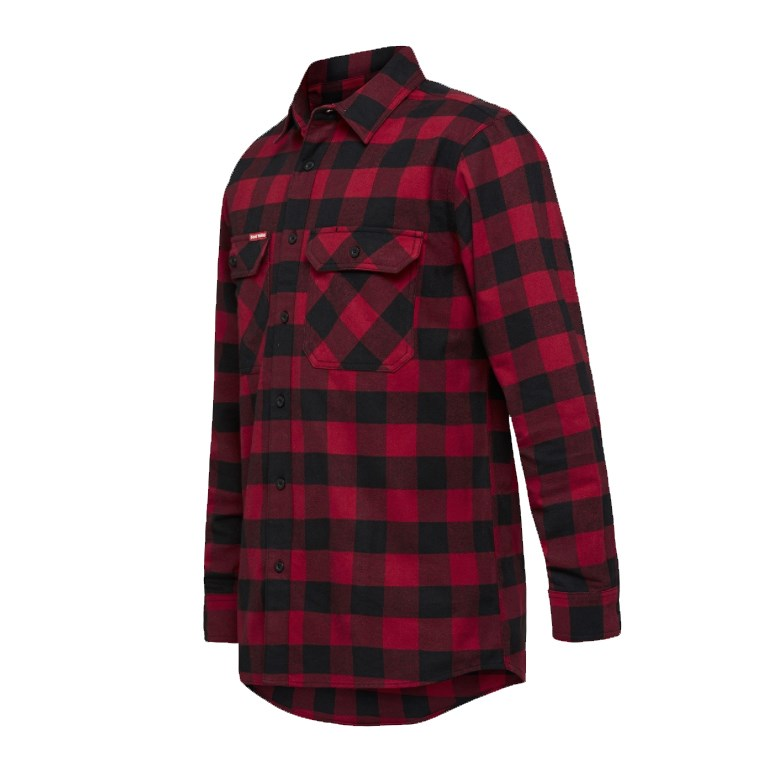 Hard Yakka Check Flannelette Shirt
