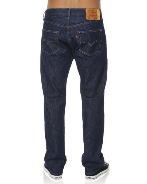 Levis 501 Straight Leg Button Fly