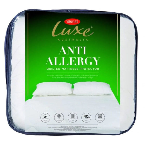 Tontine Luxe Anti Allergy Quilted Mattress Protector
