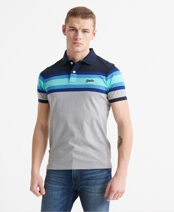Superdry Malibu Stripe Polo