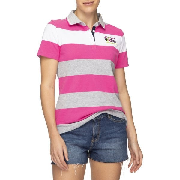 Canterbury Womens Uglies Stripe Polo