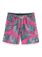 Scotch & Soda Mens Printed Swim Short