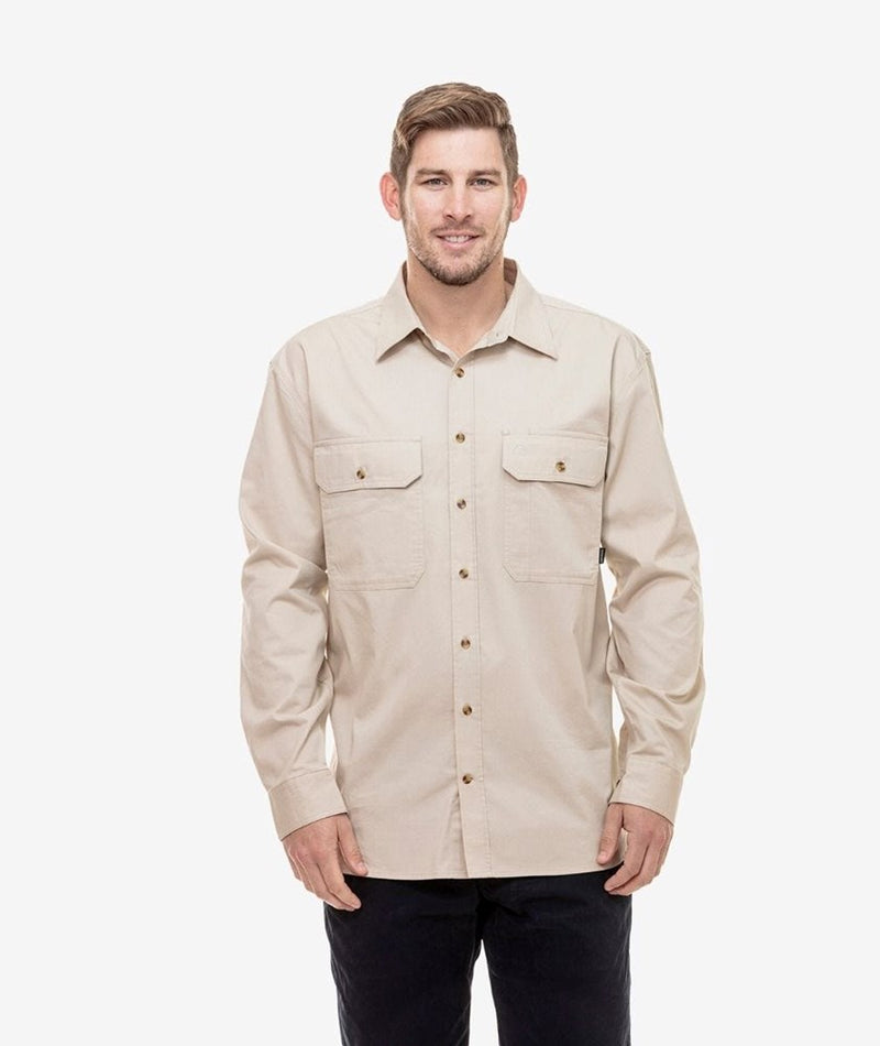 Swanndri Men's Byron Open Front Work Shirt