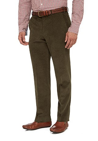 City Club Sutton 12W Cord Pant (Mocha)